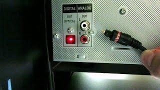 spdif ptico y coaxial no conectes las salidas analgicas del cd dvd o tv a un equipo digital