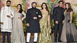 Bollywood Power Couples Attends Sonam Kapoor Reception