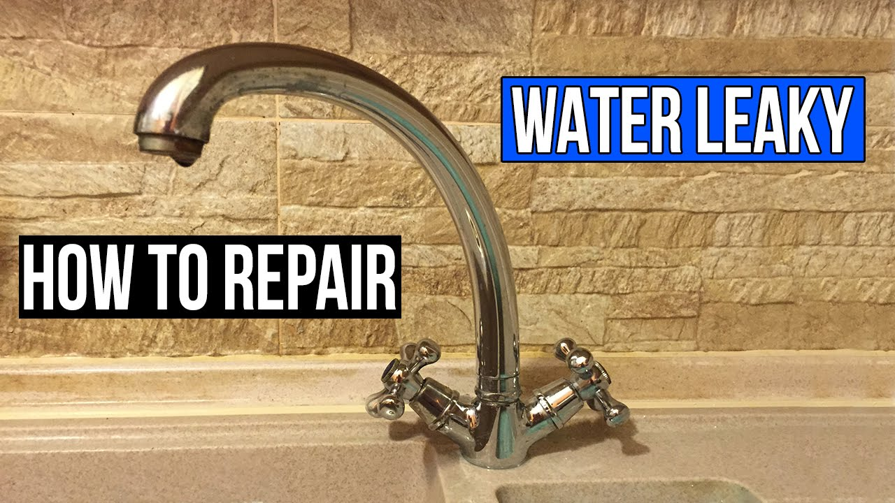 How To Repair a Water Tap That Leaks.Restore a Water Tap That Leaks ...