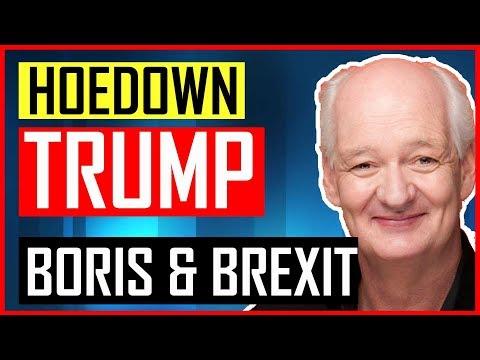 Colin Mochrie - Improvised Hoedown on Donald Trump, Brexit & Boris Johnson - VERY FUNNY