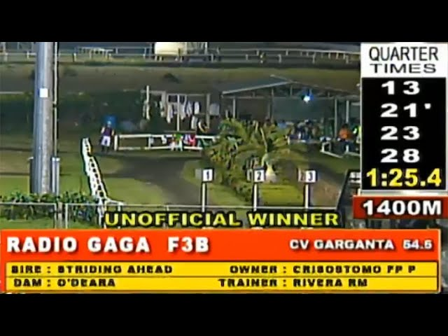 RADIO GAGA - MMTCI RACE 8 JANUARY 26, 2020 BAYANG KARERISTA HORSE RACING AT METRO TURF