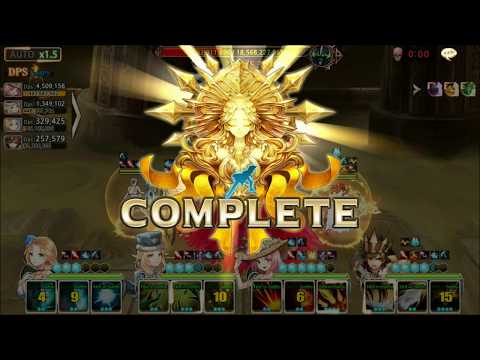 King's Raid Cleo vs GR Ancient Lich Normal Mode by Jamesyu