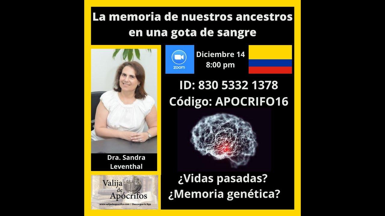 VideoZOOM:  Memoria Genética de nuestros ancestros en una gota de sangre