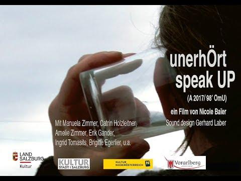 """""""unerhÖrt / speak UP"""" von Nicole Baïer – TEASER"""
