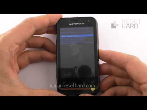 Hard Reset Motorola Defy Mini How-To