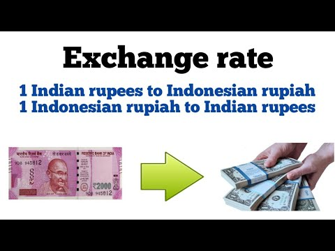 Inr To Rupiah| Inr To Idr| Idr To Inr| Indonesian Rupiah To Inr| Inr To Indonesian Rupiah