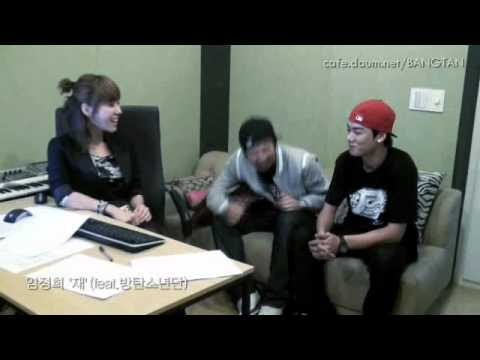 Bulletproof Boy Scouts In the Studio With Lim Jeong Hee (J-Lim)