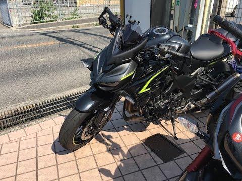 ユーチューバー ASAHINAサウンドを聞いてね� Kawasaki Z1000 ABS R Edition� カワサキ新型Z1000Rエディション 京都 スプライトライダー