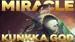 Miracle- EPIC KUNKKA Gameplay Compilation 7.22 Patch Dota 2 - Better Than !Attacker Kunkka?