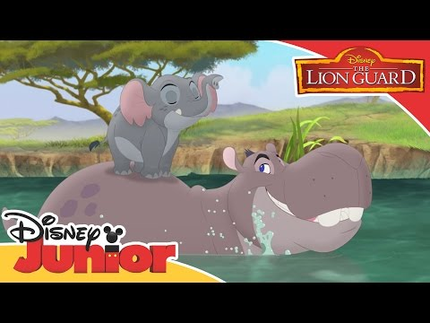 The Lion Guard - Beshte's Stelth Mode | Official Disney Junior Africa