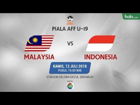 LIVE AFF CUP malaysia vs indonesia score 1 - 1