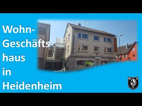 VERKAUFT!! Wohn-und Geschäftshaus in Heidenheim