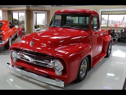 1955 ford f100 test drive classic muscle car for sale in mi vanguard motor sales youtube. Black Bedroom Furniture Sets. Home Design Ideas