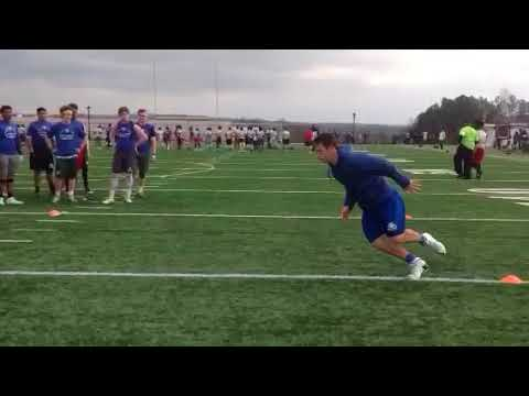 Dillon Knepp 2018 LB  Great Footwork Karaoke Anyone?!