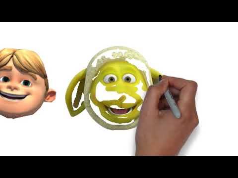 Boyama Oyunu Rafadan Tayfa Kuzucuk Kafa Boyama Head Painting