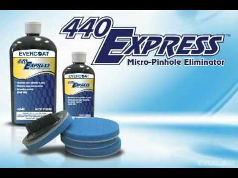 Eliminador de microagujeros en preparación final con 440Express™ de Evercoat - spanish