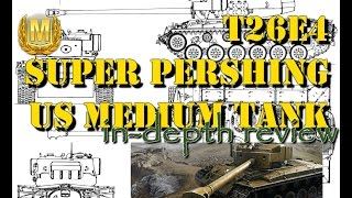 WoT Blitz | T26E4 Super Pershing | gameplay and review