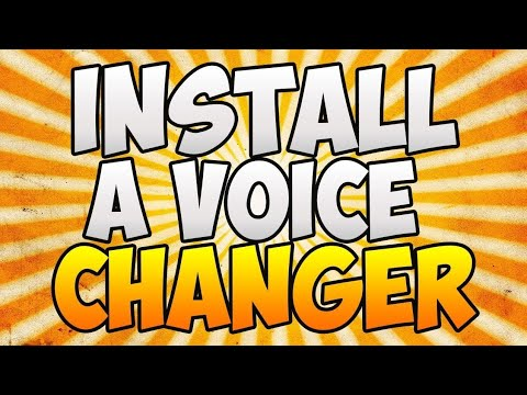 How To Get //voicechanger// For PS4/XBOX!! EASY!!