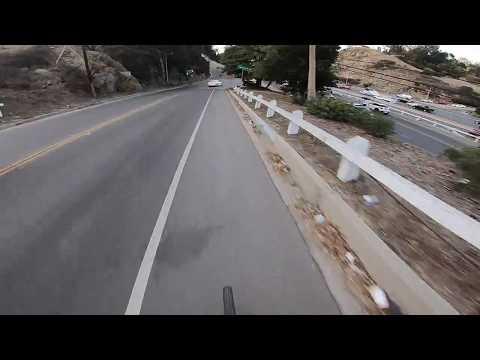 Downhill to Hollywood Blvd - Bike Ride - GoPro Hero 6 Black