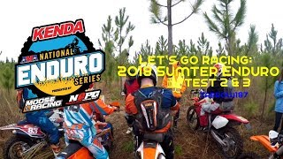 Let's Go Racing: NEPG Sumter Enduro Test 2 and 3