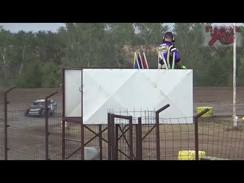 Salina Speedway - 9-30-18 - Mid America Clash 6 - A Modified Heat Races