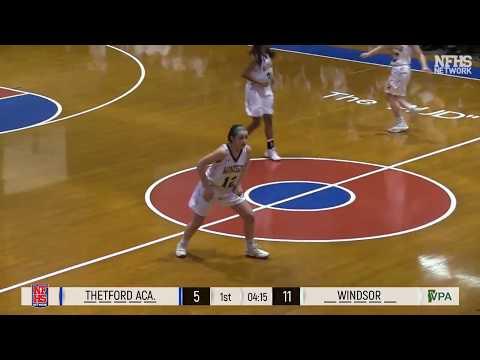 2018 Finals - Windsor Girls vs. Thetford Academy