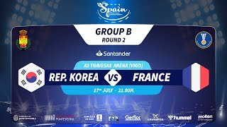 #Handtastic | PR - Group B | Rep. Korea : France