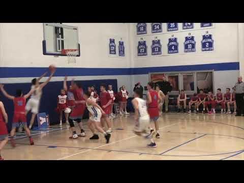 "Trey James 6'10"" 2021 18-19 Highlights Sheldon Clark High School"