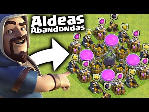 Como CONSEGUIR ALDEAS ABANDONADAS en Clash of Clans!! [ByMaxx]