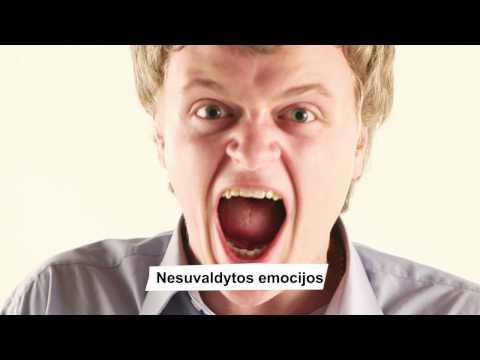 Kaip išmokti valdyti emocijas
