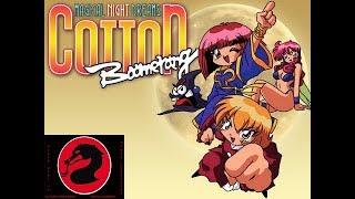 Cotton Magical Nights Dreams Boomerang Sega Saturday Saturn Import Lets Play