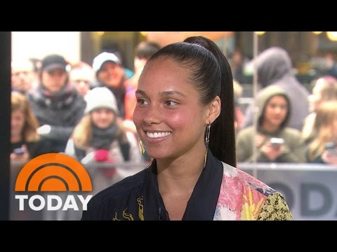 Alicia Keys: Gwen Stefani And I Like Each Other More Than Blake And Gwen   TODAY