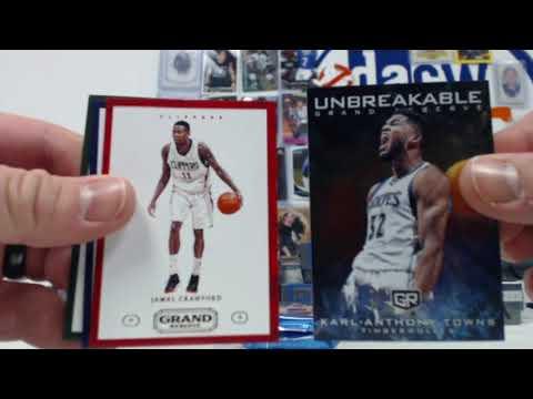 2016/17 Panini Grand Reserve Basketball 8-Box Case- DACW Live 30 Spot Random Team Break #5