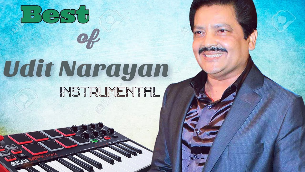 Best Of Udit Narayan Instrumental Songs || Soft Melody Music || 90`s Instrumental Songs.