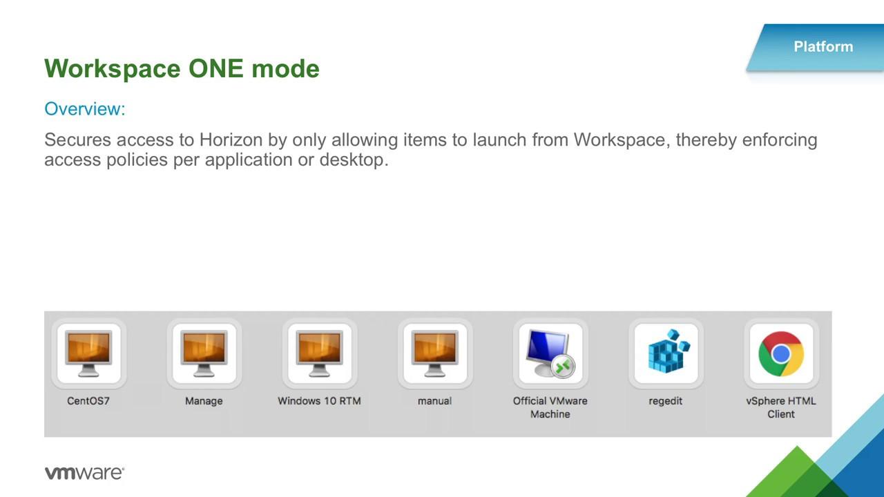 What's New in VMware Horizon 7 2 & Horizon Client 4 5 - WertsIT