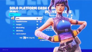 How I got 2nd place in the CONSOLE platform cash cup ($600)