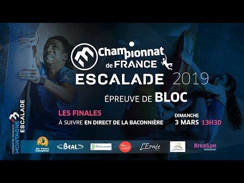 Championnat de France de bloc 2019 - Finales - La Baconnière