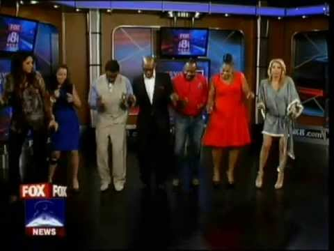 Fox 8 News In The Morning (WJW-TV Cleveland) May 31, 2013 - Cupid Shuffle!