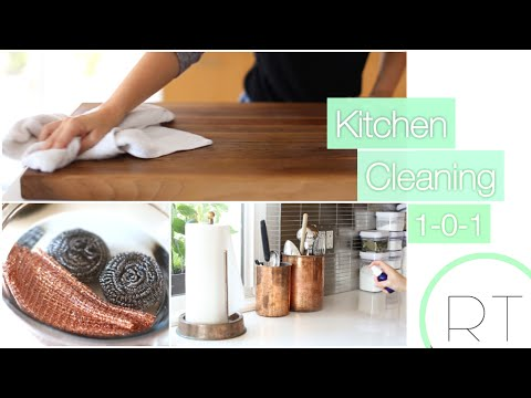 My Kitchen Cleaning Tips 101 (Natural + Easy)