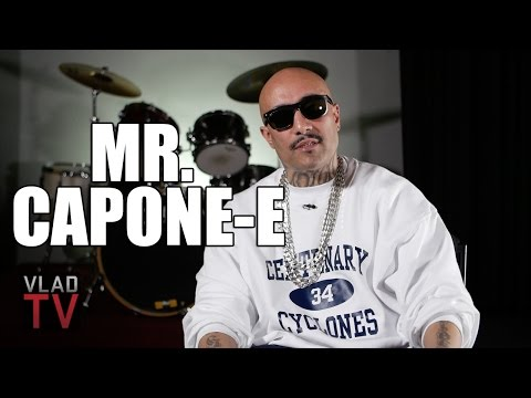 Mr. Capone-E: A Lot of Mexican Gangster Rappers Get Locked Up