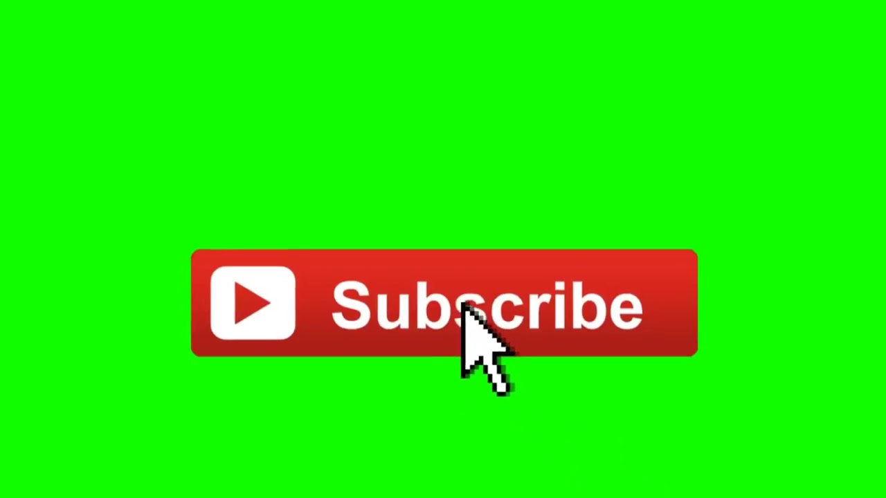 Animated Subscribe Button Overlay With Sound Effect Free ...