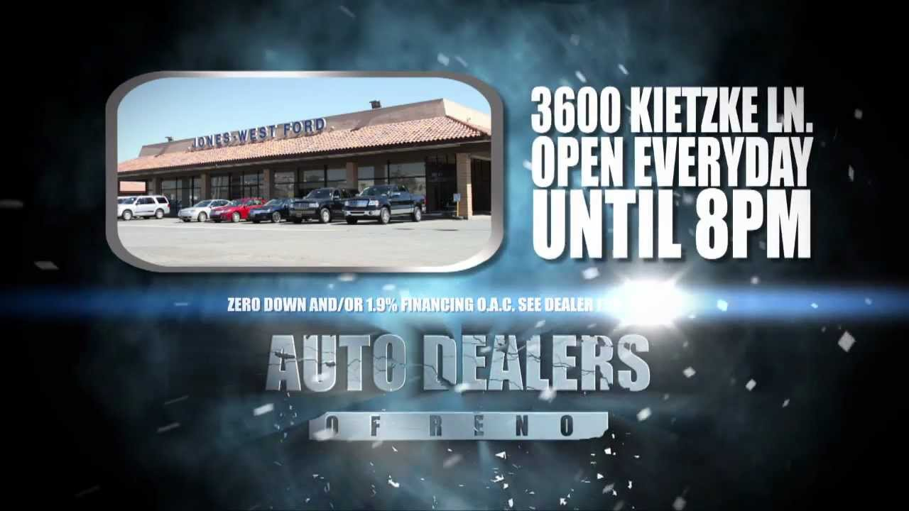 Jones West Ford Auto Dealers Of Reno Sale & Jones West Ford Auto Dealers Of Reno Sale - YouTube markmcfarlin.com