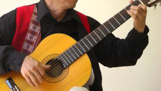 TOCCATA - Paul Mauriat, Transcr for Guitar: Đăng Thảo
