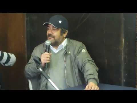 Concerto Primo Maggio 2012: video conferenza stampa con F. Pannofino