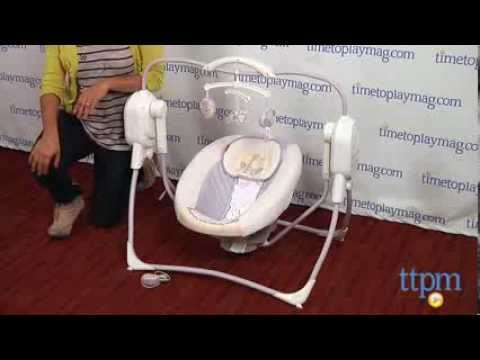 Power Plus Spacesaver Cradle N Swing From Fisher Price