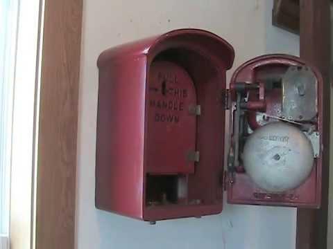 My FDNY fire alarm box running.