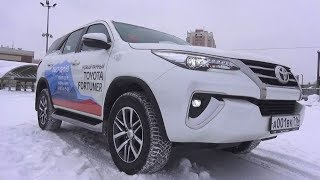 2018 Toyota Fortuner (An160) 2.8 (1gd-Ftv) At. Start Up, Engine, And In Depth Tour.