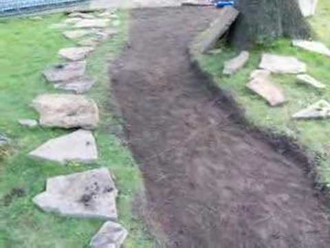 Make a stone walkway YouTube