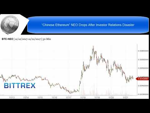 """Chinese Ethereum"" NEO Drops After Investor Relations Disaster"