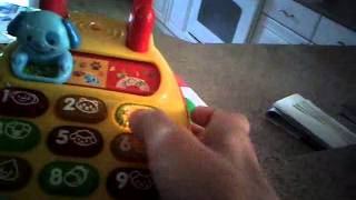 How to make a toy phone curse